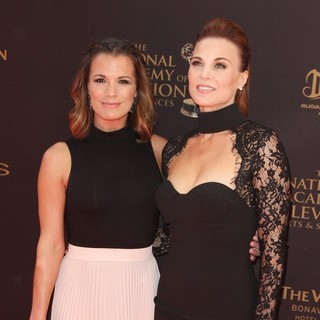 Melissa Claire Egan, Gina Tognoni in 43rd Annual Daytime Emmy Awards - Arrivals