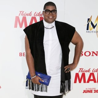 EJ Johnson in Film Premiere of Think Like a Man Too