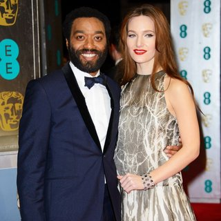 Chiwetel Ejiofor, Sari Mercer in EE British Academy Film Awards 2014 - Arrivals