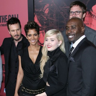 Michael Eklund, Halle Berry, Abigail Breslin, Morris Chestnut in Los Angeles Premiere of The Call