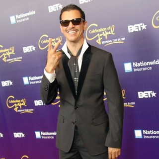 El DeBarge in The Red Carpet for The BET Celebration of Gospel