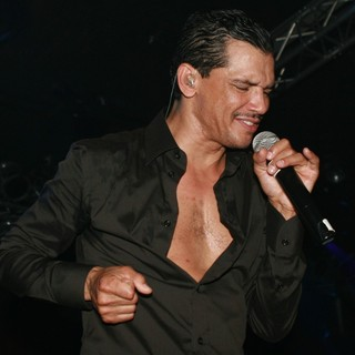 El DeBarge in El DeBarge Performs at CD Release Show for Album Second Chance
