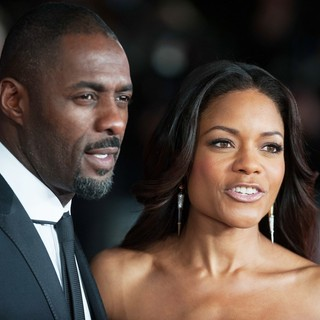 Idris Elba, Naomie Harris in The Royal Film Performance of Mandela: Long Walk to Freedom - Arrivals