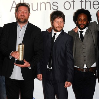 Elbow in Barclaycard Mercury Prize Awards 2011 - Arrivals