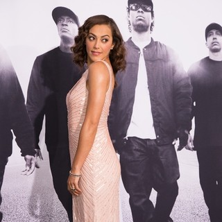 Elena Goode in World Premiere of Universal Pictures' Straight Outta Compton - Arrivals