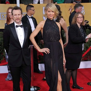 Bodhi Elfman, Jenna Elfman in 19th Annual Screen Actors Guild Awards - Arrivals