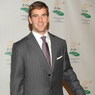 Eli Manning in The Fifth Annual Tom Coughlin Jay Fund Foundation Fundraising Event