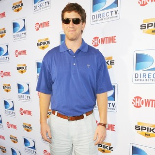 Eli Manning in The Fourth Annual DIRECTV Celebrity Beach Bowl