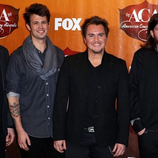 Eli Young Band in 2011 American Country Awards - Press Room