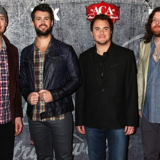 Eli Young Band in 2012 American Country Awards - Arrivals