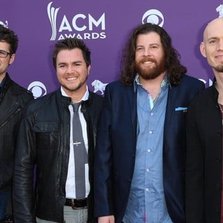 Eli Young Band in 48th Annual ACM Awards - Arrivals