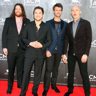 Eli Young Band in 49th Annual Academy of Country Music Awards - Arrivals
