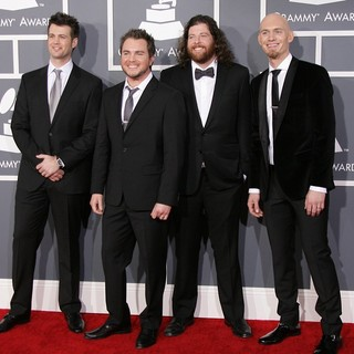 Eli Young Band in 55th Annual GRAMMY Awards - Arrivals