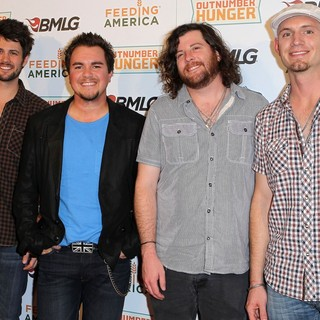 Eli Young Band in Country Music Superstars Unveil Major Consumer Product Campaign During ACM Weekend