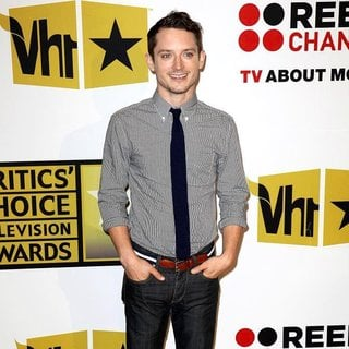 Elijah Wood in The 2011 Critics Choice Television Awards Luncheon - Red Carpet