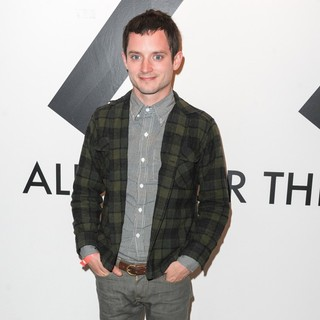 Elijah Wood in All in for The 99 Percent Art, Music and Cultural Activism Benifit - Arrivals