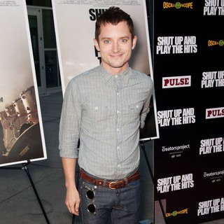 Elijah Wood in Los Angeles Premiere of Shut Up and Play The Hits