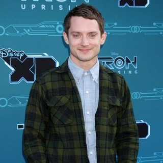 Elijah Wood in Disney XD's TRON: Uprising Press Event and Reception