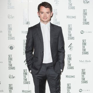 Elijah Wood in UK Premiere Set Fire to the Stars - Arrivals
