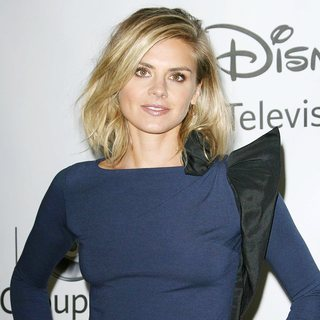 Eliza Coupe in 2011 Disney ABC Television Group Host Summer Press Tour