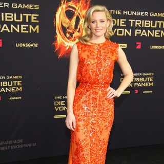 Elizabeth Banks in Premiere of The Movie The Hunger Games