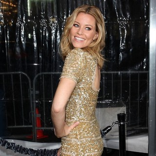 Elizabeth Banks in Premiere of Man on a Ledge