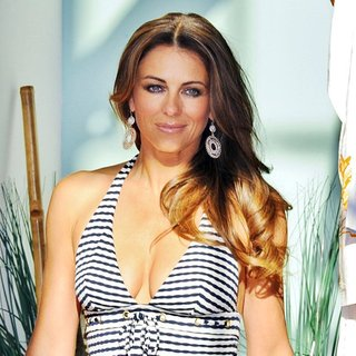 Elizabeth Hurley in Elizabeth Hurley Launches Her Beachwear Boutique