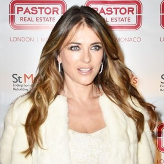 Elizabeth Hurley-Elizabeth Hurley Switches on The Shepherd Market Lights