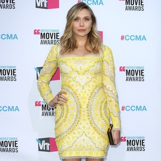 Elizabeth Olsen in 17th Annual Critic's Choice Movie Awards - Arrivals
