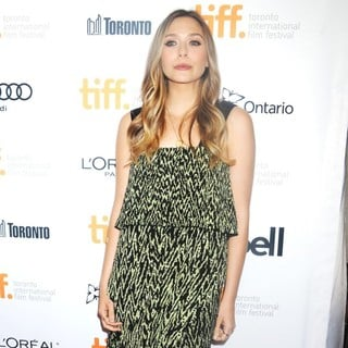 Elizabeth Olsen in Toronto International Film Festival 2013 - Therese Premiere - Arrivals
