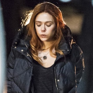 Elizabeth Olsen in Elizabeth Olsen Films Scenes for Movie Avengers: Infinity War