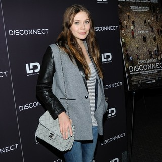 Elizabeth Olsen in New York Screening of Disconnect