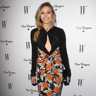 Elizabeth Olsen in W Magazine's 69th Annual Golden Globe Awards Celebration - Arrivals