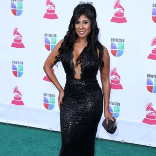 Elizabeth Ortiz in 13th Annual Latin Grammy Awards - Arrivals