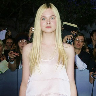 Elle Fanning in The Premiere of The Twilight Saga's Breaking Dawn Part II