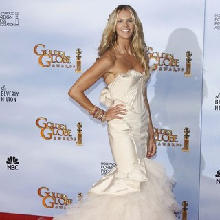 Elle MacPherson in The 69th Annual Golden Globe Awards - Press Room