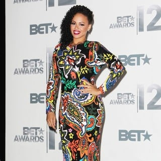 Elle Varner in The BET Awards 2012 - Press Room