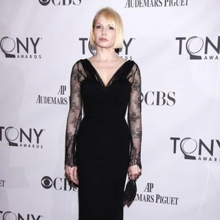 Ellen Barkin in The 65th Annual Tony Awards - Arrivals