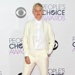 Ellen DeGeneres - The 41st Annual People's Choice Awards - Arrivals