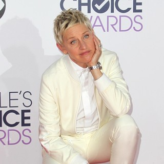 Ellen DeGeneres in The 41st Annual People's Choice Awards - Arrivals