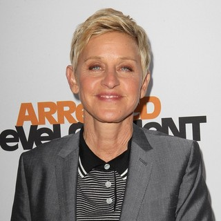 Ellen DeGeneres in Netflix's Los Angeles Premiere of Season 4 of Arrested Development