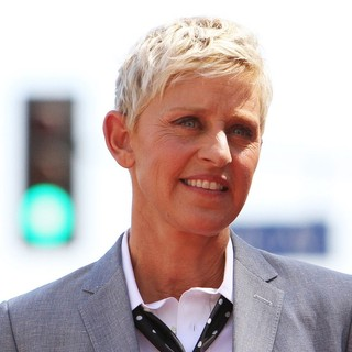 Ellen DeGeneres in Ellen DeGeneres Is Honored with A Star on The Hollywood Walk of Fame