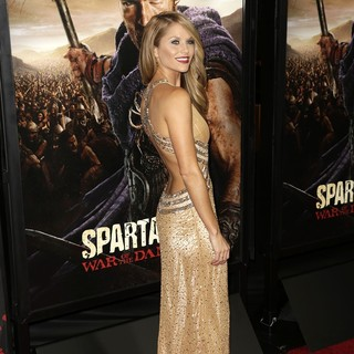 Ellen Hollman in U.S. Premiere Screening of Spartacus: War of the Damned