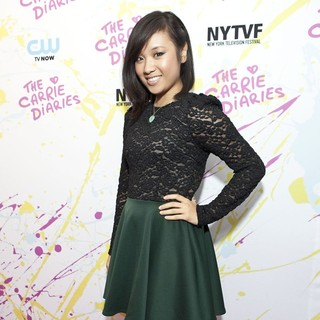 Ellen Wong in The Carrie Diaries Premiere