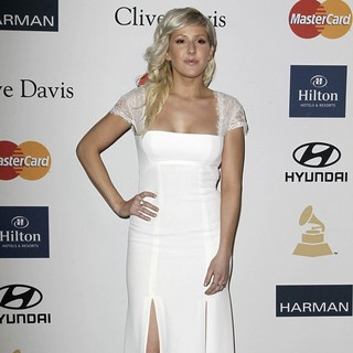 Ellie Goulding in Clive Davis and The Recording Academy's 2013 Pre-Grammy Gala and Salute to Industry Icons