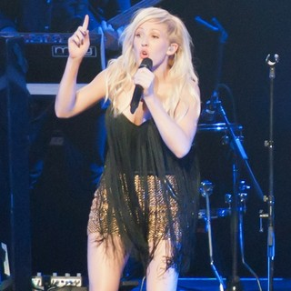 Ellie Goulding in KIIS FM's Jingle Ball 2012 - Show - ellie-goulding-jingle-ball-2012-show-02