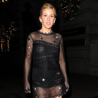 Ellie Goulding on A Night Out Leaving Rosewood London