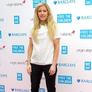 Ellie Goulding in We Day UK A Charity Event to Bring Young People Together