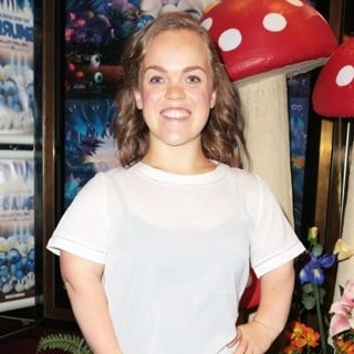 Ellie Simmonds-Smurfs: The Lost Village Gala Film Screening