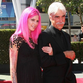 Cleo Cole Elliott, Sam Elliott in 2013 Primetime Creative Arts Emmy Awards - Arrivals